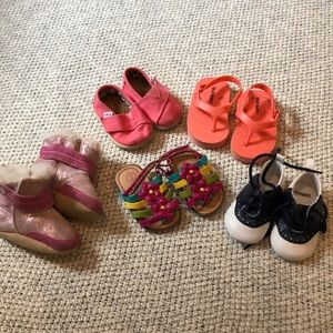 Lot of girls shoes, size 2